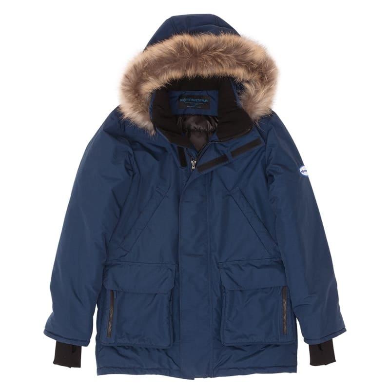 Наша география. Участники. Мужская зимняя городская куртка-аляска Extreme Winter. . Для температур от -5 до -30