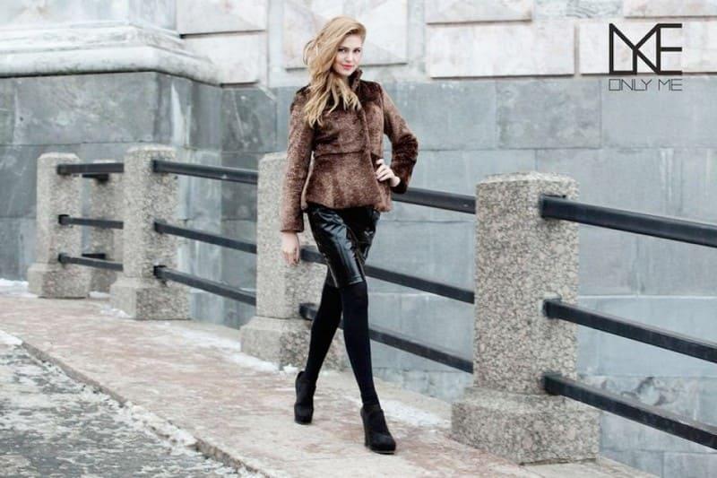 Шубы из искусственного меха: тепло и модно