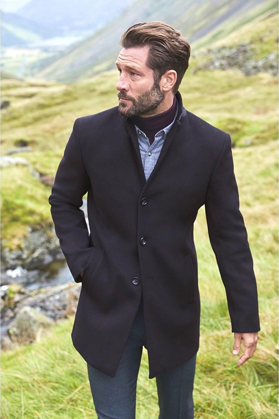 Пальто для мужчин, за и против